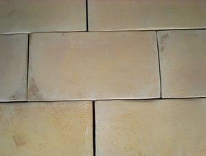 Carrelage proven al rectangulaire en terre cuite de for Carrelage rectangulaire