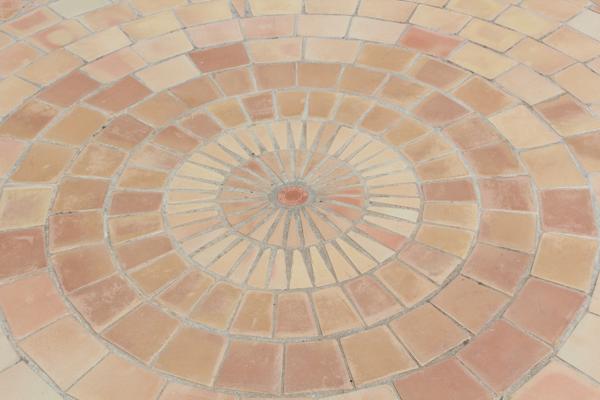 Gallery Of Rosace Carrelage U Carrelage Terre Cuite U Fabrication  Artisanale With Terre Cuite Extrieure